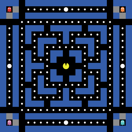NetLogo Models Library: Pac-Man Level Editor